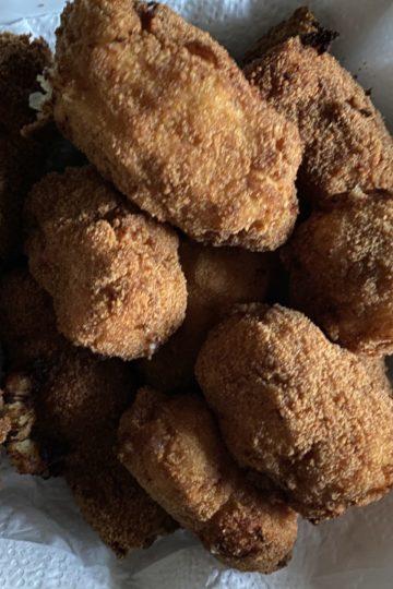 Croquetas caseras de pollo