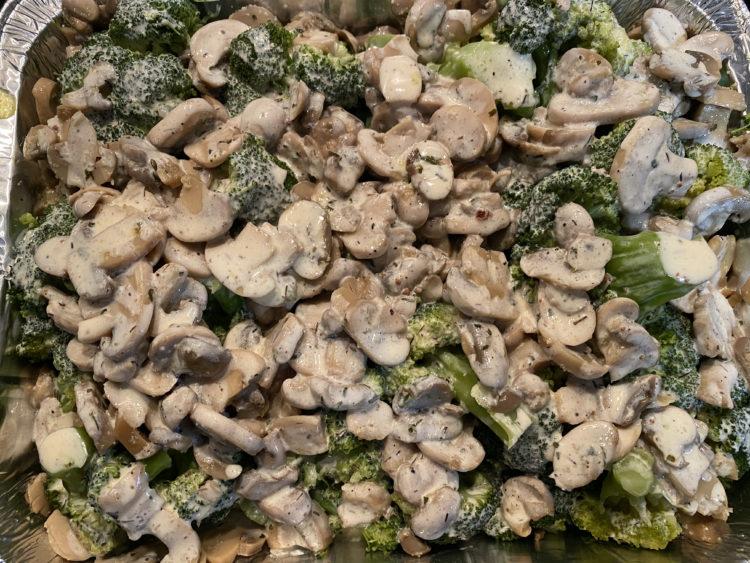 Brecol champiñones batido